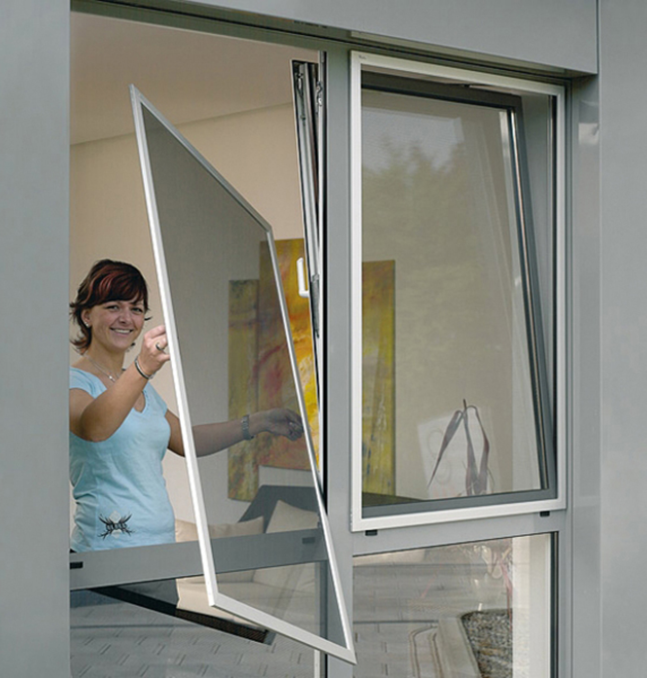 Фото снятое через окно 1 фотография